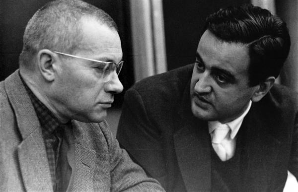 Max Bill and Tomás Maldonado