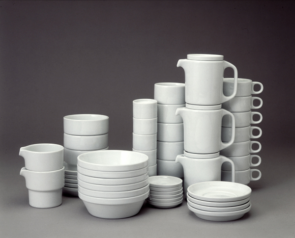 Ulm School Of Design Insight Stackable Tableware TC 100