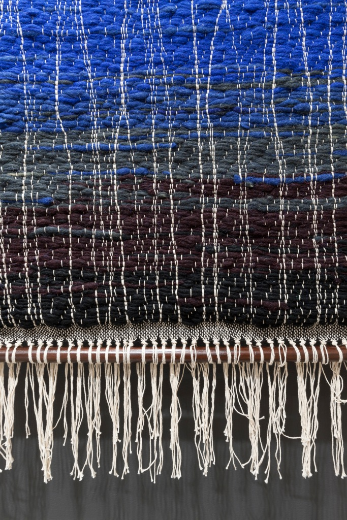 RMIT Gallery: Unfolding: New Indian Textiles, 20 MAR 2015 - 30 MAY 2015 Indian textile designers are the envy of the rest of the world because they continue to have close, easy contact with all manner of hand production and crafts no longer available elsewhere. Photo by Mark Ashkanasy, 2015