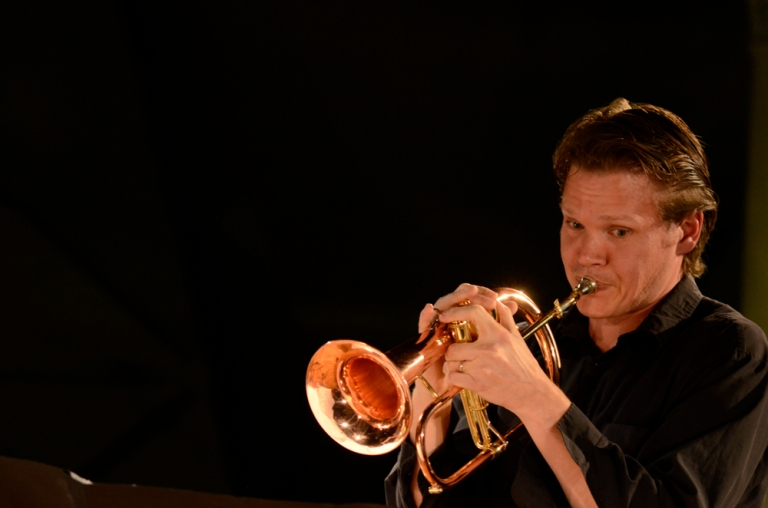 Tristram Williams, trumpet, ELISION Ensemble