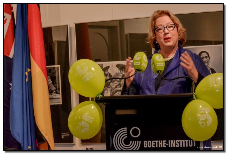RMIT Gallery Director Suzanne Davies shares some reflections of the Gallery's collaboration with the Goethe Institut.