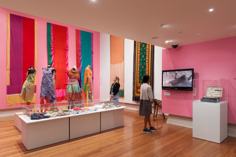 RMIT Gallery Unfolding: New Indian Textiles 20 MAR 2015 - 30 MAY 2015 Indian textile designers are the envy of the rest of the world because they continue to have close, easy contact with all manner of hand production and crafts no longer available elsewhere.