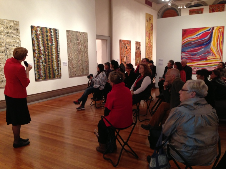 2014: Warlayirti: The Art of Balgo – curator talk with Dr Jacky Healy
