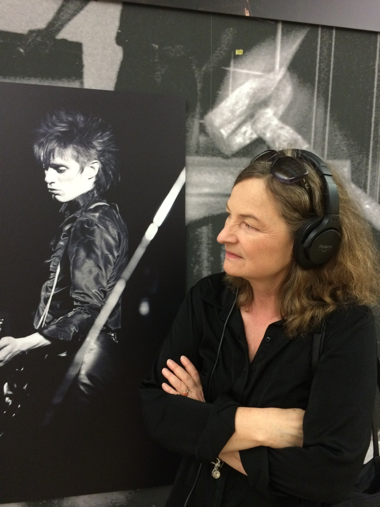 Mathilde Weh, curator, Geniale Dilletanten, at the exhibitionat the Haud der Kunst, Munich. Photo: Evelyn Tsitas