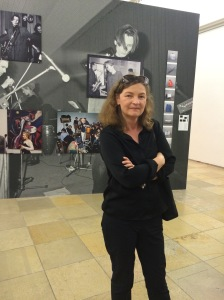 Mathilde Weh at the Geniale Dilletanten exhibition, Haus der Kunst, Munich.