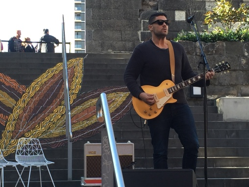 """RMIT University - the 30 May 2016 launch of the University's Reconciliation Action Plan (RAP) and opening of the newly completed Indigenous Garden – """"Ngarara Place"""" on RMIT's City campus."""